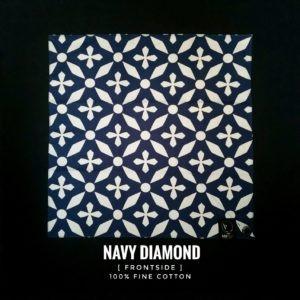 Brotac Hanks 01-3341, Navy Diamond