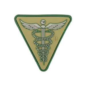 Maxpedition MXCADUA, Caduceus PVC Morale Patch, Green