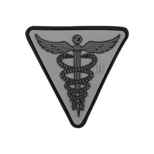 Maxpedition MXCADUS, Caduceus PVC Morale Patch Grey