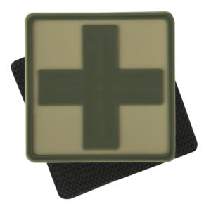 Helikon Tex, Medic Cross PVC Patch, Khaki