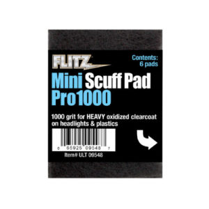 Flitz Mini Scuff Pads 6pcs pack