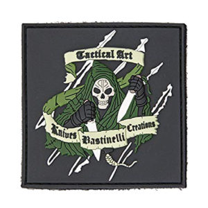 Bastinelli Knives Reaper Patch