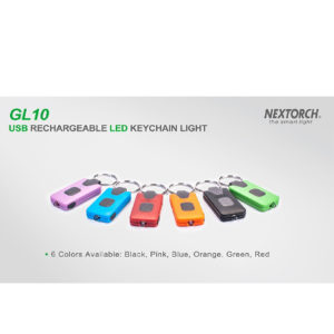 NexTorch Key Ring GL10 Flashlight max 18 lumen