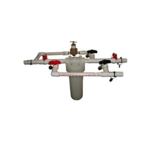 "Sawyer PointONE 10"" Filter Kit Pre-Plumbed w/PVC Back-Wash (SP202)"