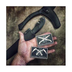 Bastinelli Knives Reapertac Patch