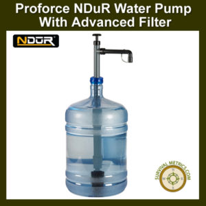 NDuR Water Pump with Advanced Filter