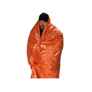 NDuR Survival Blanket in Orange/Olive