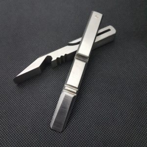 EDC Designs / Minh Do, Prybar Gen 5 – Stainless Steel