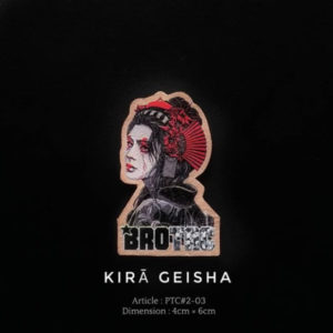Brotac 3D Patch, Kira Geisha