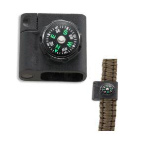 CRKT Stokes, Paracord Bracelet Acc – Compass & Fire Starter