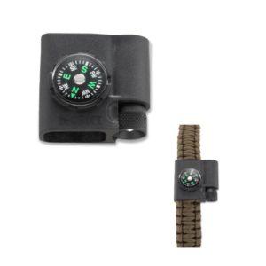 CRKT Stokes, Paracord Bracelet Acc – Compass & LED