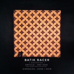Brotac Hanks, Batik Racer
