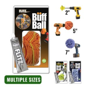 Buff Ball – Available in 2″, 5″, and 7″ (w/ FREE 50g Paste Polish)