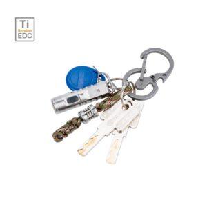 RovyVon, U8 Titanium Quick-release Keychain Carabiner / Bottle Opener
