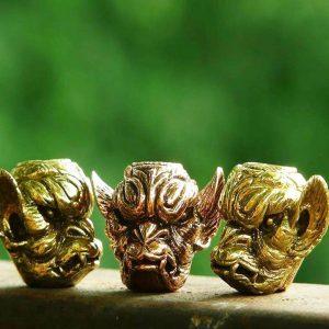 Santi's Beads, Gargoyle, Brass