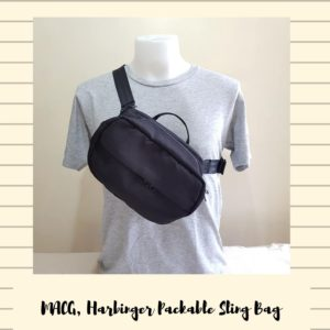 Miguel Andre Harbinger Packable Sling Bag