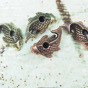 Santi's Beads, Koi The Fish, Copper