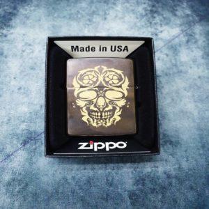 Triarii Metalworks Zippo, Skulls