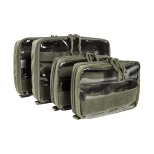 Tasmanian Tiger 7566 Medic Pouch Set (Set consists of: 1 pouch small: 17.5 x 12 x 4.5 cm / 1 pouch large: 24.5 x 17 x 6 cm)
