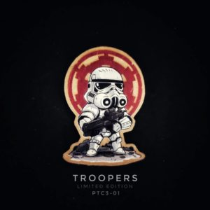 Brotac PTC3-01, 3D Patch, Troopers Limited Edition