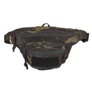 Tasmanian Tiger 6906, Modular Hip Bag, Black Multicam