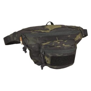 Tasmanian Tiger 6906, Modular Hip Bag, Black Multicam