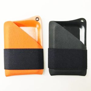 Paracraft, Kydex Minimalist Wallet in Orange / Black