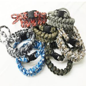 Paracraft, Paracord Wristlet with buckle – Assorted Colours