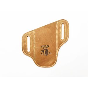Strong Cow, Leather Holster, Large / Medium with logo