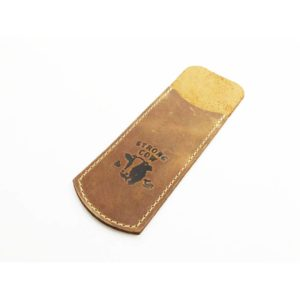 Strong Cow, Leather Slip-On Medium, 14.0×3.5cm, with logo