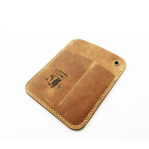 Strong Cow, Leather Pocket Caddy with pocket 6.0/4.0cm, with logo