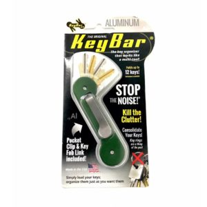 Keybar, Aluminium, Green