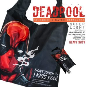 Brotac Deadpool Foldable Reusable Bag Large