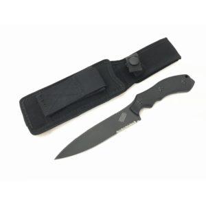 Bastinelli Knives Raptor GT6 Origin Black Blade with Serrations