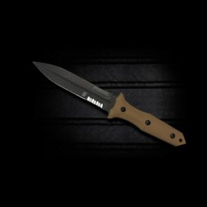 Bastinelli Knives Grozo Coyote with Serrated Edge