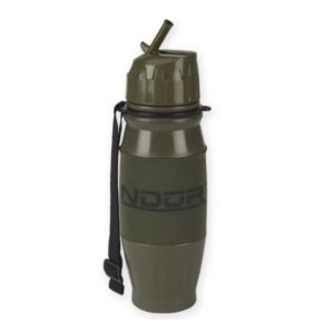 NDuR Filtration Bottle, Flip Top, 28oz / 820ml (Available in Olive/ Clear)