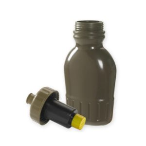 NDuR Filtration Canteen in Olive, Pull Top, 38oz / 1.1liter