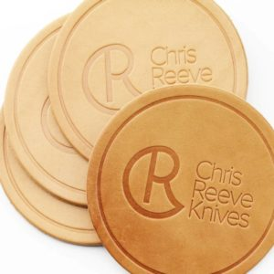 Chris Reeve, Leather Coaster 4 pack