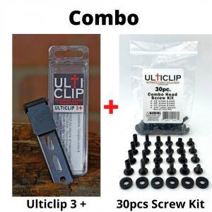 UltiClip Combo Set, UltiClip3+ + 30pc. Screw Kit