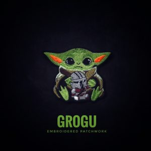 Brotac, Grogu Non-GITD, Limited Edition Patchworks