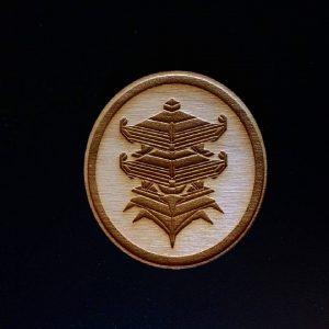 Oni Gear Industries Wood Patch, Pagoda