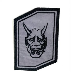 Oni Gear Industries Patch, Logo, Hex Grey