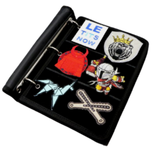 OV Patch Book with ring (Available in Black and Coyote)