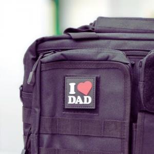 TD,  I Love Dad Patch